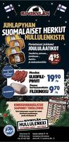 Suomalaiset herkut Kivikylästä